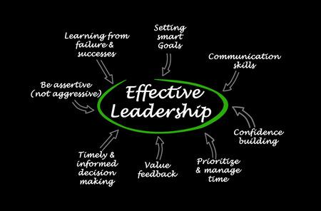 Characteristics of Effective Leadership 版權商用圖片 - 125605070