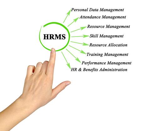 Functions of human resource management system 版權商用圖片