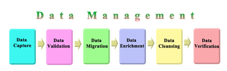 Six steps of Data Management