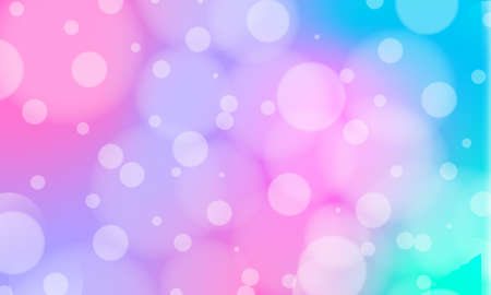 Holographic background in different colors with bokeh effect. Hologram to create trendy modern design.