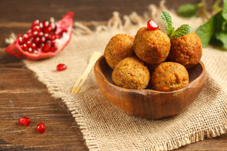 fried chickpea Balls, falafel, a healthy and delicious dish, will diversify your diet during lent. The dish consists of an optimal amount of protein-fat-carbohydrates and perfectly saturates