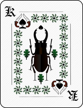 card: Playing card.
