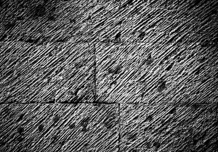 Cracked konkrete fragment of the wall with strips dinamic motion