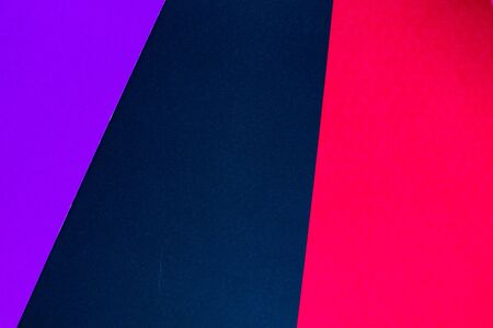 Different multicolored trendy background with pink, dark blue and purple colors. Place for text