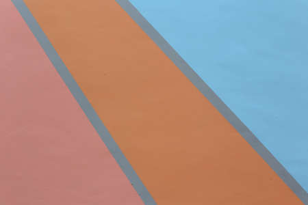 Abstract geometric colorful pastel concrete background. Backdrop for your design.