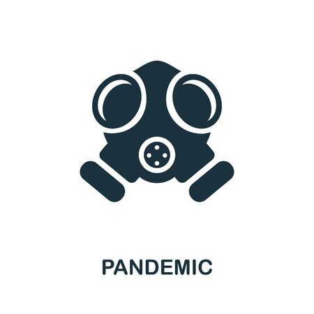 Pandemic icon. Simple illustration from coronavirus collection. Creative Pandemic icon for web design, templates, infographics and more.