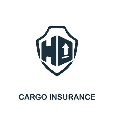 Cargo Insurance icon. Simple illustration from cargo collection. Creative Cargo Insurance icon for web design, templates, infographics and more.