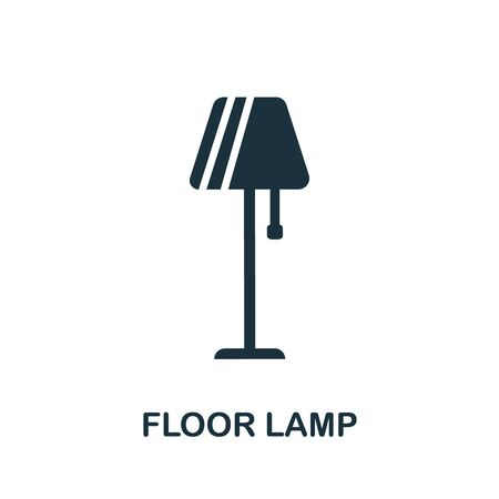 Floor Lamp icon. Simple illustration from furniture collection. Creative Floor Lamp icon for web design, templates, infographics and more. Illustration