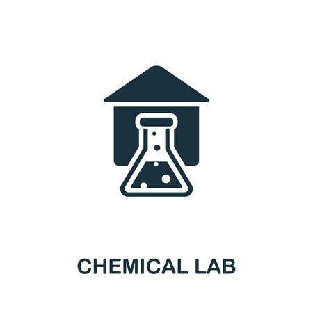 Chemical Lab icon. Simple illustration from medical equipment collection. Creative Chemical Lab icon for web design, templates, infographics and more.