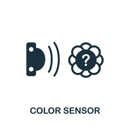 Color Sensor icon. Simple element from sensors icons collection. Creative Color Sensor icon ui, ux, apps, software and infographics.