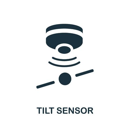 Tilt Sensor icon. Simple element from sensors icons collection. Creative Tilt Sensor icon ui, ux, apps, software and infographics.
