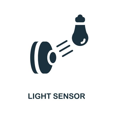 Light Sensor icon. Simple element from sensors icons collection. Creative Light Sensor icon ui, ux, apps, software and infographics.