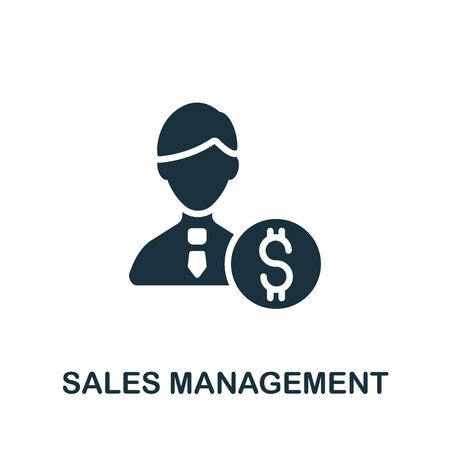 Sales Management icon. Simple element from company management collection. Creative Sales Management icon for web design, templates, infographics and more