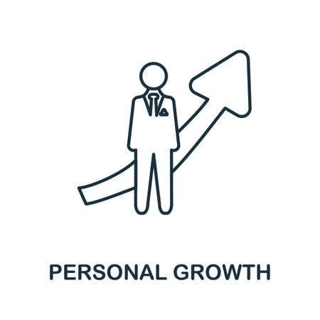 Personal Growth icon. Simple element from business management collection. Creative Personal Growth icon for web design, templates, infographics and more