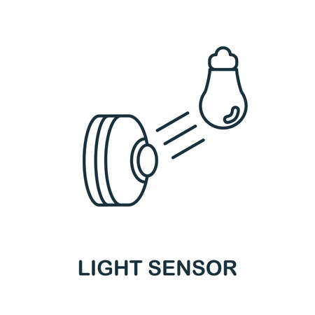 Light Sensor icon. Simple element from sensors icons collection. Creative Light Sensor icon ui, ux, apps, software and infographics