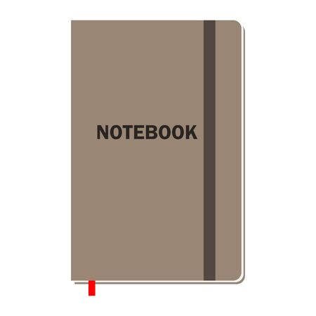 Notebook with pages for animation or different design .