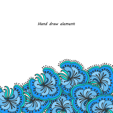 painted hands: abstract flowers painted hands