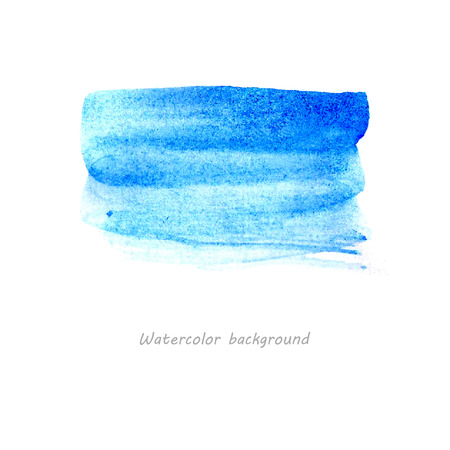 Hand draw watercolor elements Illustration