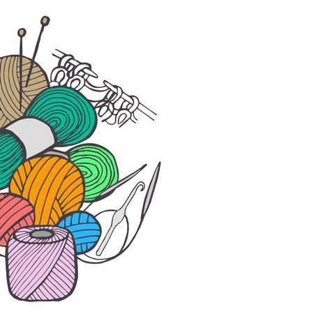 zeitlos: von Hand gezeichnete Trick Illustration