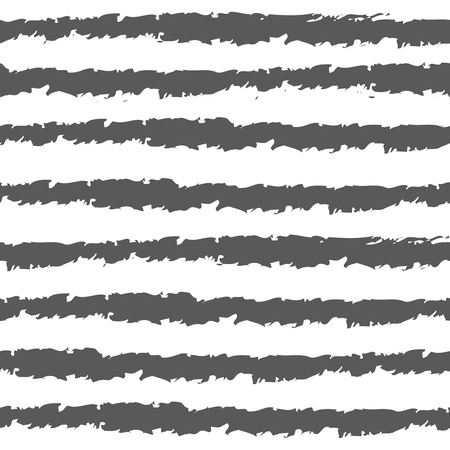scalloped: seamless background. abstract stripes and spots. primitive pattern