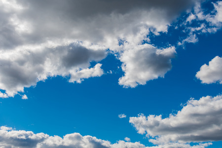 sky in beautiful clouds Stock Photo