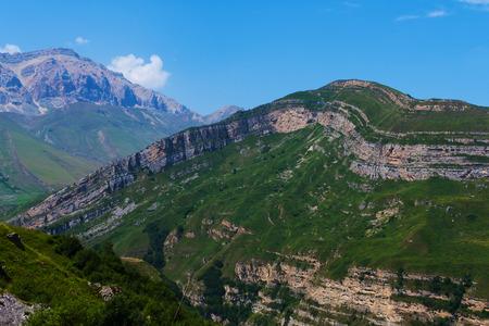 Azerbaijan. great caucasus mountains