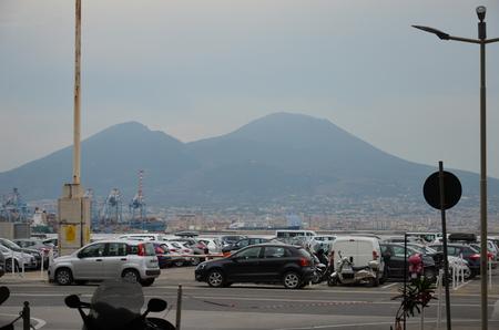 walk in Naples city