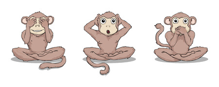 ignorance: three wise monkeys