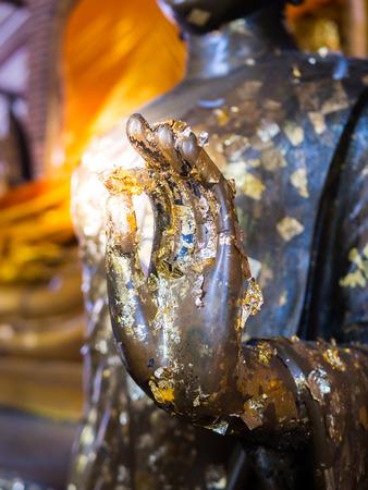 Hand of the Buddha Stock Photo