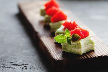recipe: japanese green tea petits fours [36]