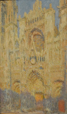 monet: Claude Monet (1840 - 1926) Rouen Cathedral. 1893. Photo made in Pushkin Museum of Fine Arts (Moscow, Russia). Editorial