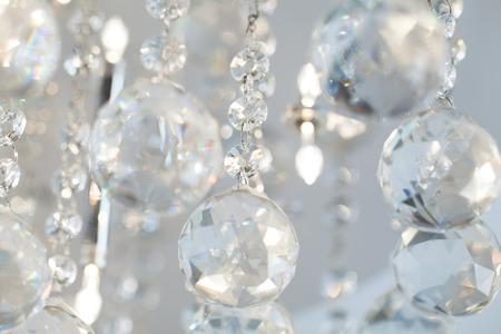 crystal background: Lamp crystal light background
