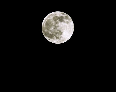Full Moon Spring Equinox  25th March 2005. Stock Photo - 309558