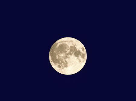 cycles: Pleine lune de Midsummers Eve 21.6.05, du Pays de Galles, Royaume-Uni.  Banque d'images