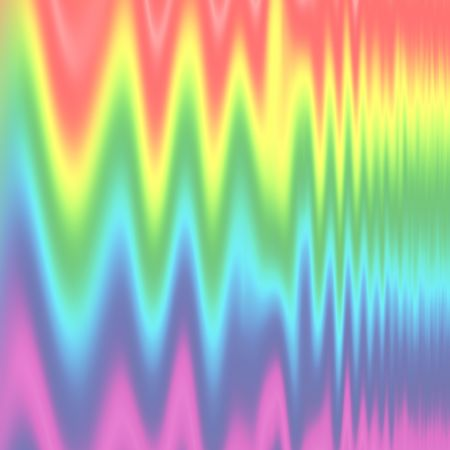 pulses: Abstract of rainbow spectrum in zig zag vertical pulse design. Stock Photo