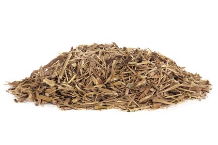 Ginseng herb root used in chinese herbal medicine. Isolated over white background. Ginnsuu, panax. photo