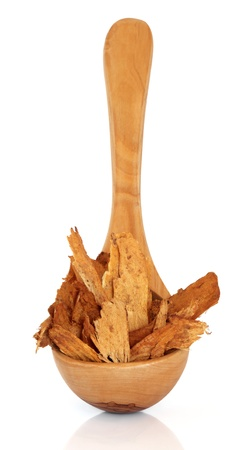 qui: Astragalus root used in chinese herbal medicine on white background  Astragali radix, Zhi huang qui
