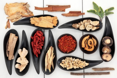 Traditional chinese herbal medicine ingredient selection