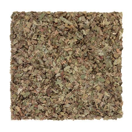 ayurvedic: Walnut leaf herb used in ayurvedic alternative herbal  medicine over white background. Juglans regia.