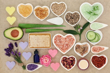 Skincare and body care ingredients to cleanse and soothe skin disorders.