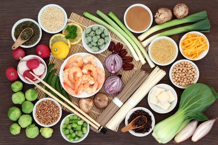 Japanese macrobiotic super food concept