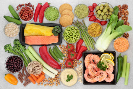 Low glycemic health food for diabetics with vegetables, seafood, dips & pasta with all foods below 55 on the GI index. High in antioxidants, anthocyanins, vitamins, protein, omega 3 & smart carbs.