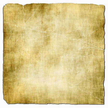 Papel ligero viejo aislado en blanco Foto de archivo - 5330672