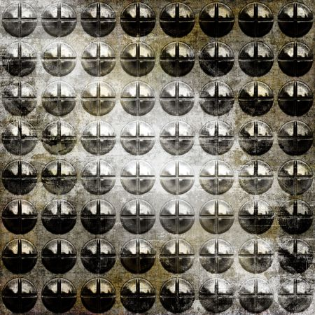 Seamless Metal Screws Grunge Background   photo