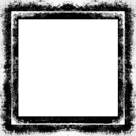 grunge textures: Grunge Border Frame