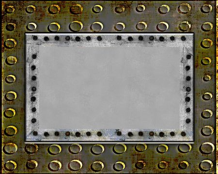 shiny metal background: Metal Plate Grunge