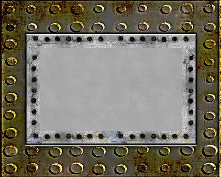 shiny metal: Metal Plate Grunge