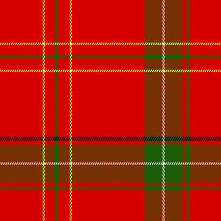 scotch: Naadloze kerst Plaid