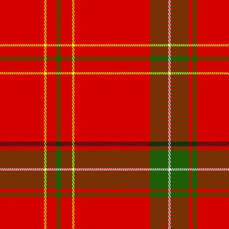 Seamless Christmas Plaid 版權商用圖片 - 5383289