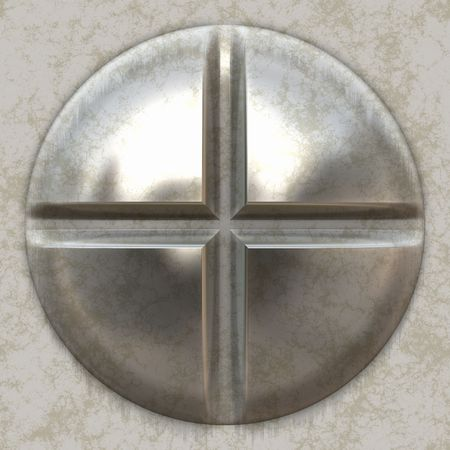 screw: Big Metal Screw   Stock Photo